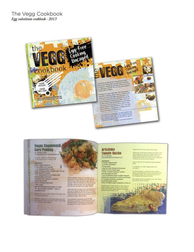 Design for Vegg Cookbook
